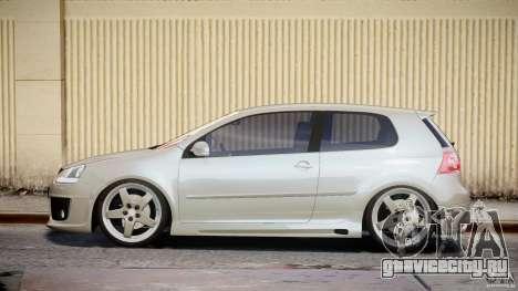 Volkswagen Golf GTI 2006 v1.0 для GTA 4 вид слева