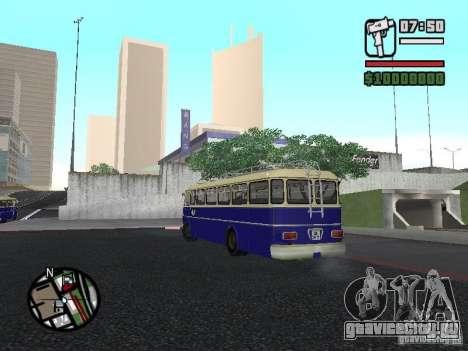 Ikarus 630 для GTA San Andreas вид справа
