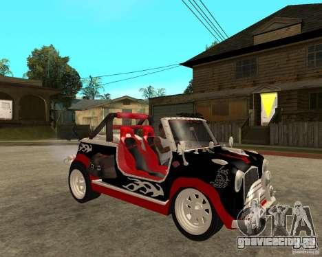 MiniCooper Tuning HOVADO 1 (MaxiPervers.cz) v.2 для GTA San Andreas