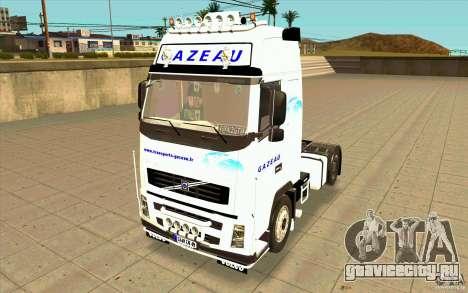 Volvo FH16 Globetrotter GAZEAU для GTA San Andreas