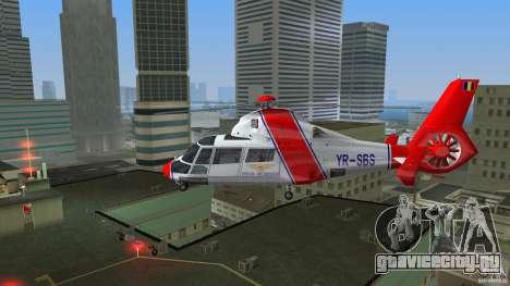 Eurocopter As-365N Dauphin II для GTA Vice City вид справа
