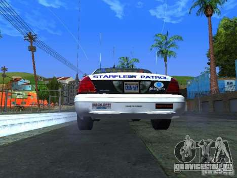 Ford Crown Victoria Police Interceptor 2008 для GTA San Andreas вид справа