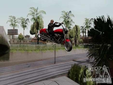Vice City Freeway для GTA San Andreas вид сзади