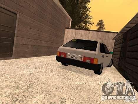 ВАЗ 2108 Такси для GTA San Andreas вид слева