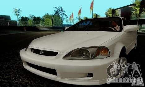 Honda Civic 1999 Si Coupe для GTA San Andreas