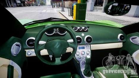Ascari KZ-1 для GTA 4 вид сзади