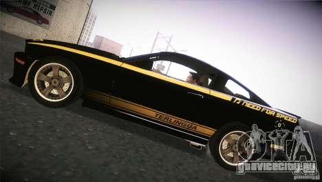 Shelby GT500 Terlingua для GTA San Andreas вид сзади слева