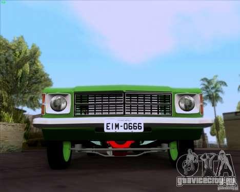 Chevrolet Opala 6CC 1979 для GTA San Andreas