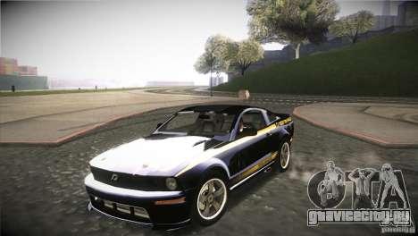 Shelby GT500 Terlingua для GTA San Andreas вид изнутри