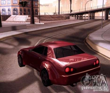 Elegy Wide Body для GTA San Andreas вид справа
