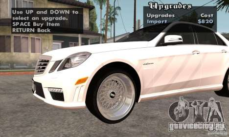 Wheels Pack by EMZone для GTA San Andreas второй скриншот