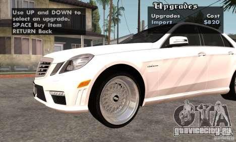 Wheels Pack by EMZone для GTA San Andreas второй скриншот