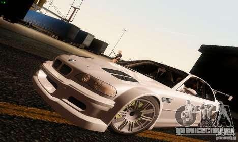 BMW M3 GTR v2.0 для GTA San Andreas