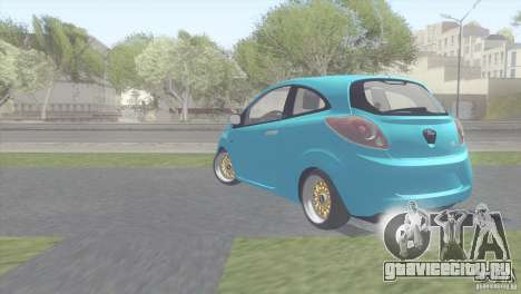 Ford Ka Stance Perry Edtion для GTA San Andreas вид справа