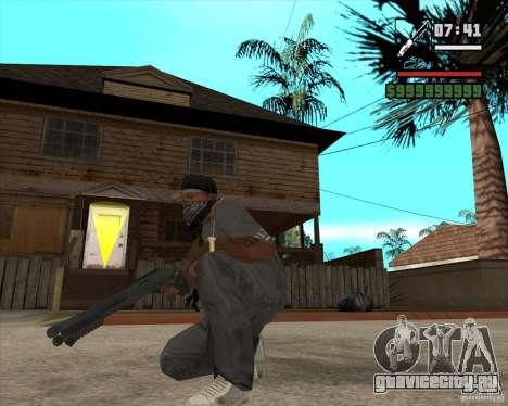 Дробаш для GTA San Andreas второй скриншот
