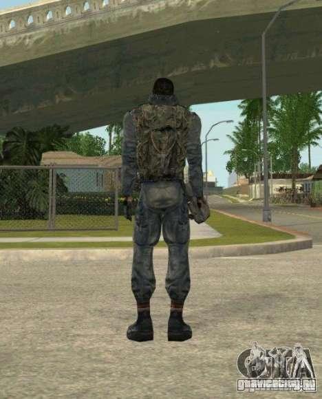 Группировка Наёмники из сталкера для GTA San Andreas седьмой скриншот