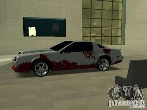 Кровь на машинах для GTA San Andreas третий скриншот