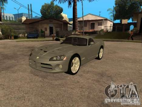 Dodge Viper Coupe 2008 для GTA San Andreas