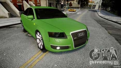 Audi A6 TDI 3.0 для GTA 4 вид сбоку