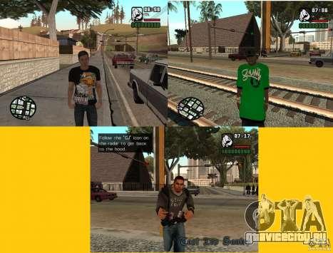3 скина на замену Сj для GTA San Andreas