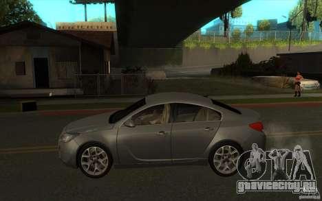 Opel Insignia 2011 для GTA San Andreas вид слева