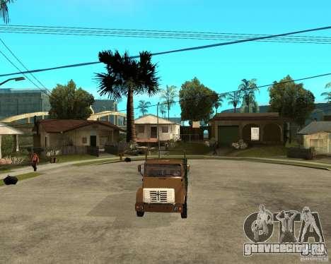 Зил-433362 Extra Pack 1 для GTA San Andreas вид сверху