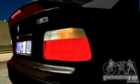 BMW  M3 Е36 для GTA San Andreas вид справа
