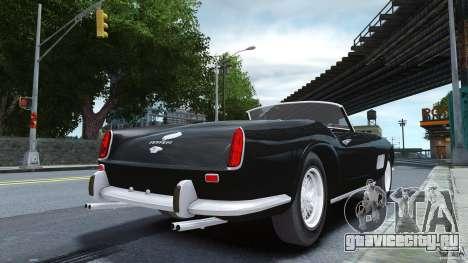 Ferrari 250 California 1957 для GTA 4 вид слева