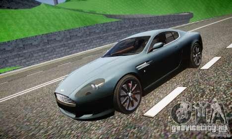 Aston Martin DB9 2005 V 1.5 для GTA 4 салон