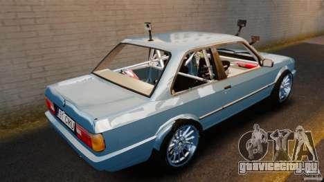 BMW E30 V8 Drift для GTA 4 вид сзади слева
