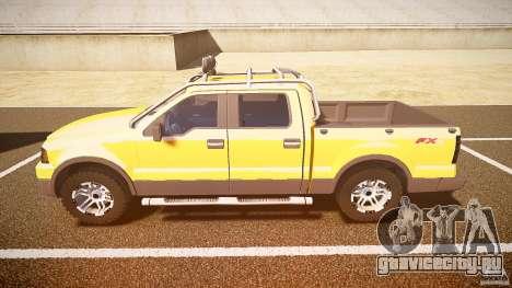 Ford F150 FX4 OffRoad v1.0 для GTA 4 вид слева