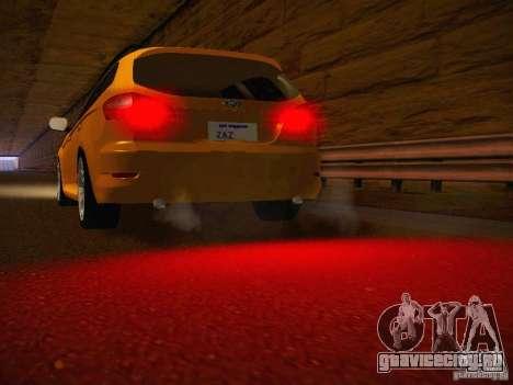 Ford Mondeo Sportbreak для GTA San Andreas вид изнутри