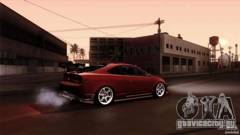 Acura RSX Spoon Sports для GTA San Andreas салон