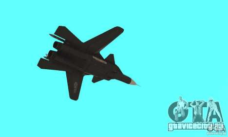Су-47 «Беркут» Anime для GTA San Andreas вид сбоку