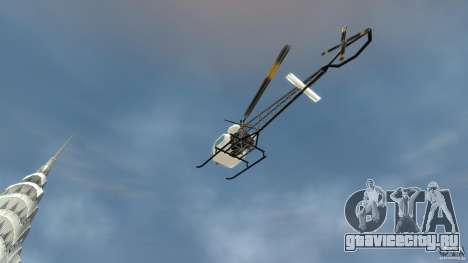 Sparrow для GTA 4 вид сзади
