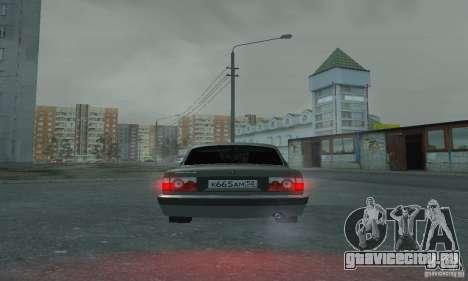 ГАЗ 3110 для GTA San Andreas вид изнутри