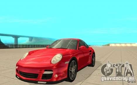 Porsche 911 (997) Turbo v3.0 для GTA San Andreas