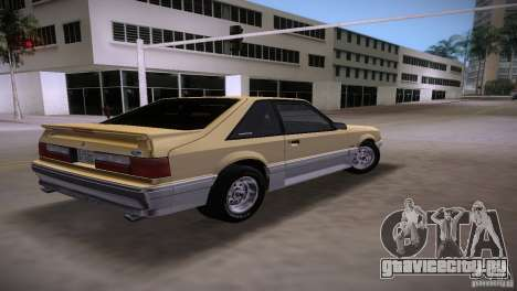 Ford Mustang GT 1993 для GTA Vice City вид слева
