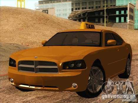 Dodge Charger STR8 Taxi для GTA San Andreas