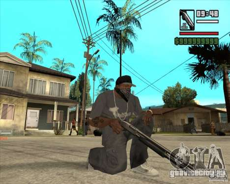 Millenias Weapon Pack для GTA San Andreas третий скриншот