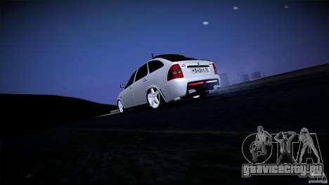 ВАЗ 2172 Mansory Club для GTA San Andreas вид сзади