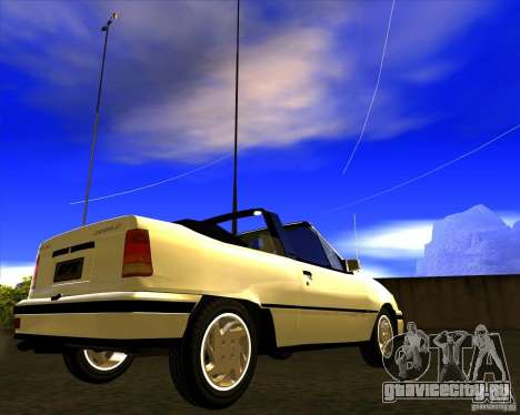 Chevrolet Kadett GSI 2.0 Conversivel (1991-1995) для GTA San Andreas вид справа