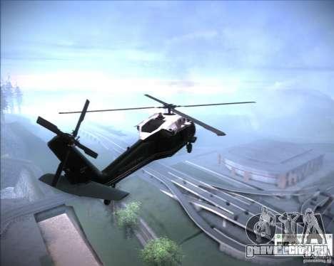 Sikorsky VH-60N Whitehawk для GTA San Andreas вид справа