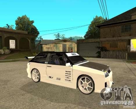 ВАЗ 2108 eXtreme для GTA San Andreas вид справа
