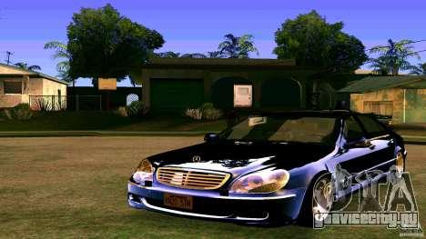 Mercedes S500 для GTA San Andreas