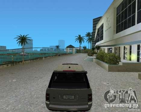 Rang Rover 2010 для GTA Vice City вид сзади слева