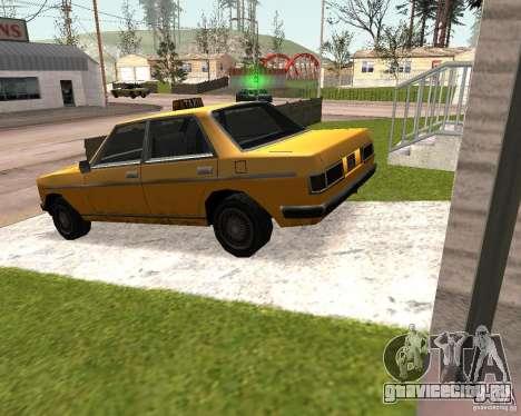 Admiral Taxi для GTA San Andreas вид слева