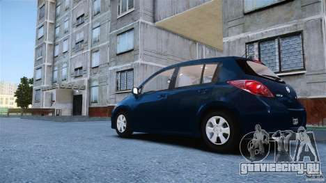 Nissan Versa для GTA 4 вид слева