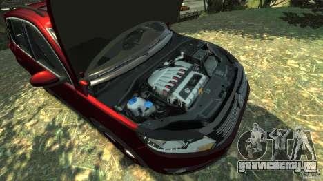 Volkswagen Tiguan 2012 для GTA 4 вид изнутри