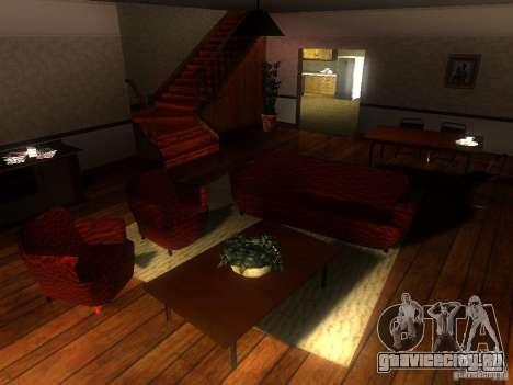 Новый Дом CJ для GTA San Andreas второй скриншот